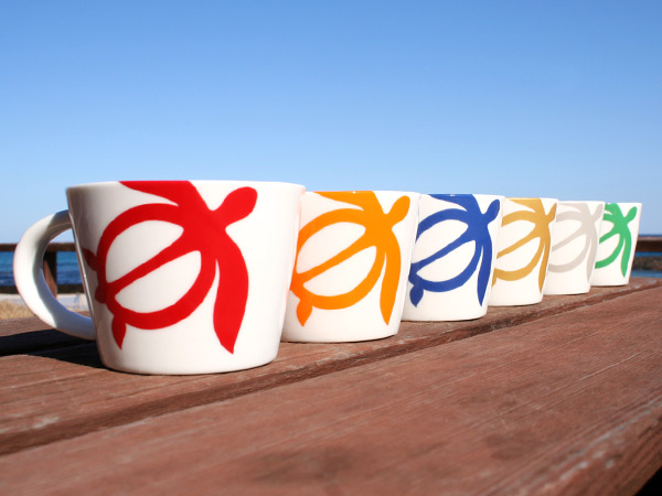 ハワイアンホヌマグカップ