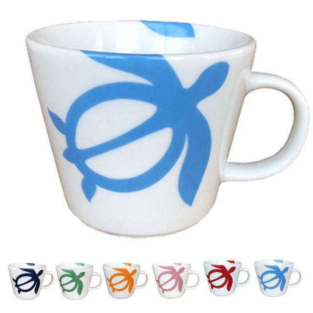 ハワイアンホヌマグカップ/ハワイアン雑貨 インテリア フラ