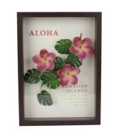 アートフレーム「Aloha Frame」 ZAH51507 Plumeria Pink/インテリア 小物・雑貨