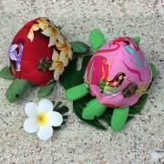 ハワイアンキルト Hawaiian Quilt  ホヌ 針山 /ピンクッション ハワイアン雑貨 インテリア  手芸 裁縫