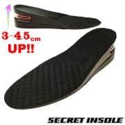 シークレットインソール 3~4.5センチUP/ 靴 中敷