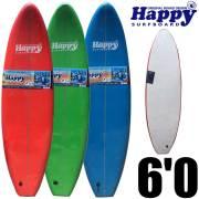 【送料無料】ソフトサーフボード 子供用サーフボード ハッピーソフトボード6'0 HAPPY SOFT SURFBOARD