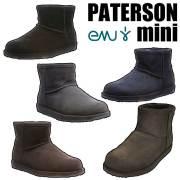 【30%OFF】【現品限り】EMU エミュー EMU PATERSON mini  WATER PROOF【INDIGO W7(24cm)】 パターソンミニ スエード/シープスキン ブーツ