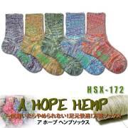 A HOPE HEMP アホープヘンプソックス HSX-172 レディース/靴下・小物 サーフィン