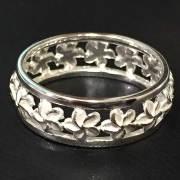 ハワイアンジュエリー シルバーリング プルメリア 指輪