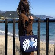 ハワイアンキルト ハンドバッグ ティアレ/Hawaiianquilt