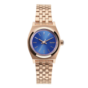 NIXON ニクソン腕時計 SMALL TIME TELLER ROSE GOLD/COBALT NA3991748-00/レディース