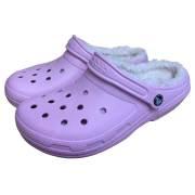 crocs クロックス サンダル Classic Fuzz Lined Clog クラシック ラインド クロッグ/レディース 女性用 正規品