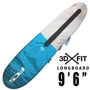 FCS サーフボードケース 3DX FIT  LB DAY Longboard Cover 9'6/ロングボード用 ハードケース サーフィン