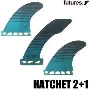 FUTURE FINS HATCHET 2+1/Futures フューチャーフィン ショートボード サーフィン