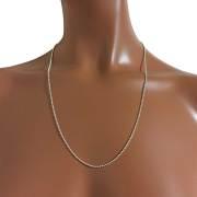 ハワイアンジュエリー シルバーボールチェーン 60cm シルバー925 細 /hawaiian jewelry アクセサリー