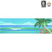 絵画 surf green/栗乃木ハルミ サーフィン インテリア フラグッズ hk0143