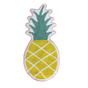 パイナップル柄 マット 65×30 /生活用品 日用雑貨