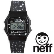 Neff ネフ メンズ腕時計 FLAVA XL SURF WATCH CREW BLACK NF0226