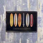アンティークメタルプレートS surf boards ブリキの看板 /サインプレート看板 スチールボード アメリカ雑貨