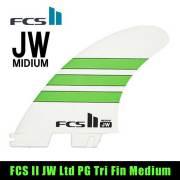 【送料無料】FCS2フィン ジュリアンウィルソン シグネチャーモデル フィン JW Medium/Julian Wilson's signature fin トライフィン サーフィン