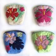 ハワイアンキルト Hawaiian Quilt ハイビスカス コインケース 財布 小銭入れ 小物入れ
