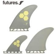 【送料無料】FUTURES FIN RTM HEX FAMT GREY 3FINS ハイパフォーマンスフィン / トライフィン ショートボードフィン サーフィン