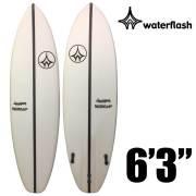 WaterFlash ウォーターフラッシュ サーフボード ショートボード EPSモデル 6'3/FCS2 トライ