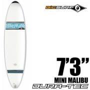 ファンボード BICサーフボード MINI MALIBU SURF  7'3