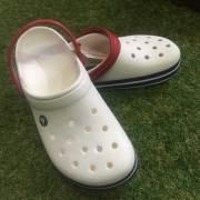 crocs クロックス Crocband Clog クロックバンドクロッグ white/BlueJean/メンズ レディース シューズ 靴/ユニセックス 正規品