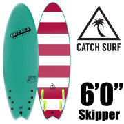 "ソフトサーフボード CATCH SURF OODYSEA 6.0"" SKIPPER QUAD TURQUOISE18 HiPerformance Quad/ソフトボード サーフィン"