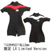 RASH ラッシュ ウェットスーツ 2mmオール レディース サマージャンキー 限定 LX Limited Version ファスナータイプ