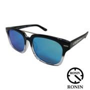 RONIN GATES ロニン サングラス ゲート フレームカラー ブラック&クリア2トーン/偏光レンズ アイウェア