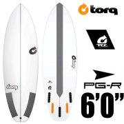 TORQ Surfboard トルクサーフボード PG-R 6'0/ピージーアール エポキシ ショートボード