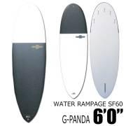 WATER RAMPAGE ウォーターランページ サーフボード SF60 G-PANDA 6'0