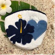 ハワイアンキルト Hawaiian Quilt ハイビスカスコインケース 小銭入れ 財布 レディース ギフト プレゼント かわいい