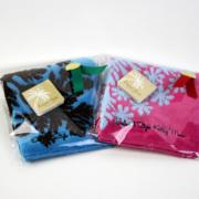 タオル ギフト 2個 個装 キャシーマム ハワイアン キルト ミニタオル ハンカチ 25cm×25cm ハンカチタオル プレゼント