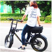 電動アシスト付き自転車 ロカフレーム マカミ マットブラック LOCKA FLAME MAKAMI