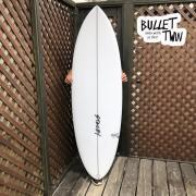 ショートボード STACEY SURFBOARDS ステイシー サーフボード ブレットツイン 5'5  S