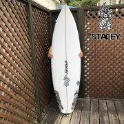 """ショートボード ステイシー サーフボード ウェーブスレーブ スリムディムス 5'9"""" STACEY SURFBOARDS WAVESLAVE-SLIMDIMS オーダー可"""