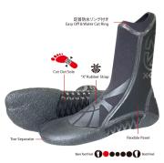 3mm サーフィン ブーツ サーフブーツ エクステンドギア ウルトラライトコンフィートブーツ