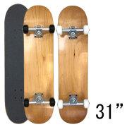 スケートボード スケボー コンプリート 7.5×31インチ