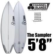 【送料無料】サーフボードCHANNEL ISLANDS チャンネルアイランド The Sampler 5'8/アルメリック FUTURE