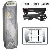 ソフトラックFCS SOFT RACKS シングル /キャリア サーフィンカー用品サーフボード