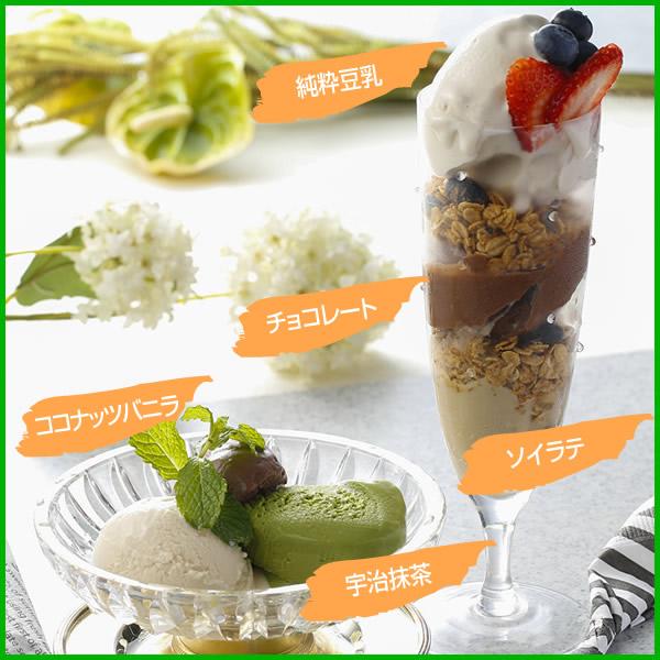 【豆乳アイスセット】