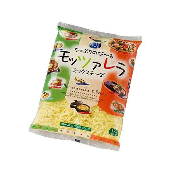【ミルクを食べる たっぷりのび~るモッツァレラミックスチーズ1kg】