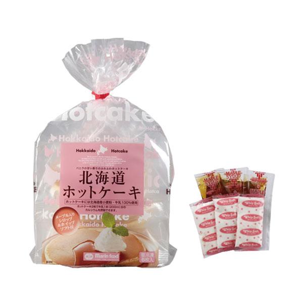【北海道ホットケーキ 3食(冷凍)】