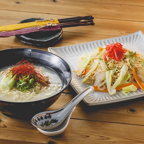 【ベジタリアンの即席麺セット】