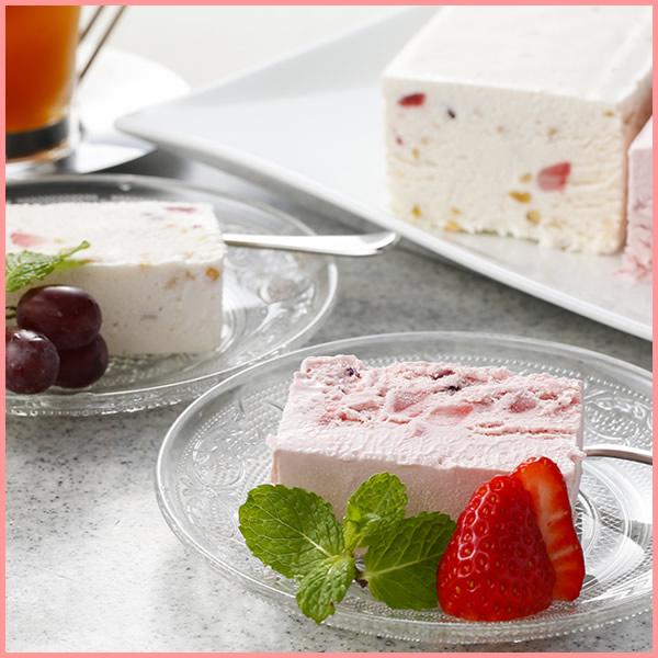 【シチリア風アイスケーキ 2種】