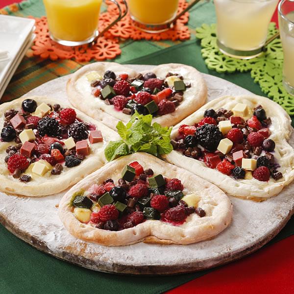 【賞味期限2020年5月23日】【ハートのピザセット 4食】
