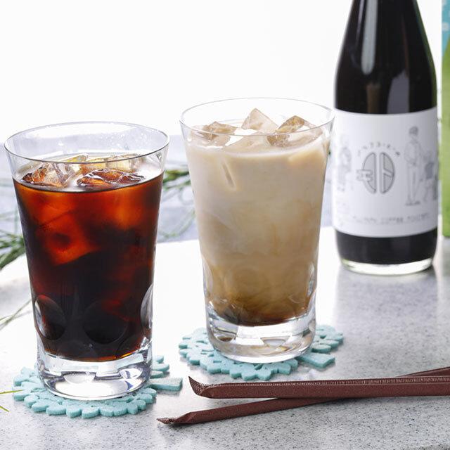 【FUJIYAMAアイスコーヒーとミルクコーヒーのもとセット】