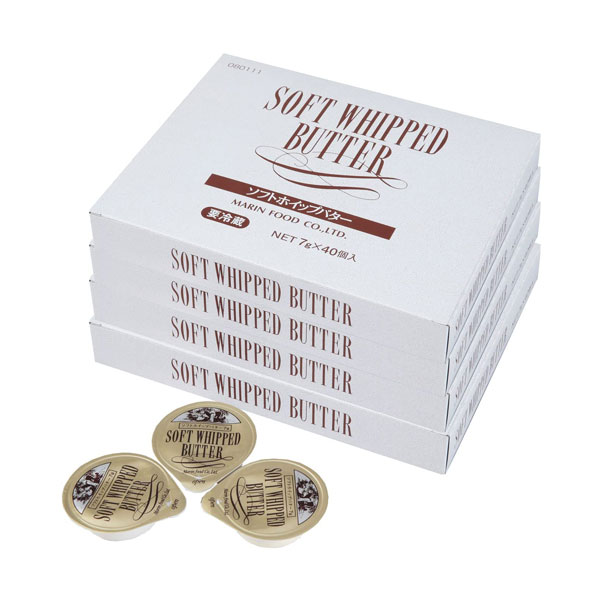 【ソフトホイップバター7g 40個入×4箱】