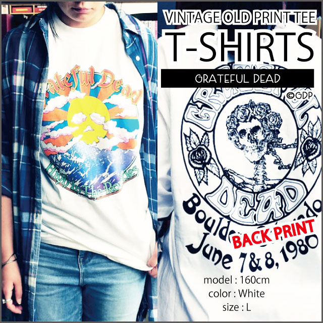 【OLD PRINT】HIGT IN THE ROCKIES T-SHIRTS/WHITE