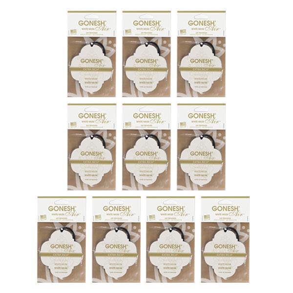 GONESH PAPER WHITE MUSK 10PCS SET