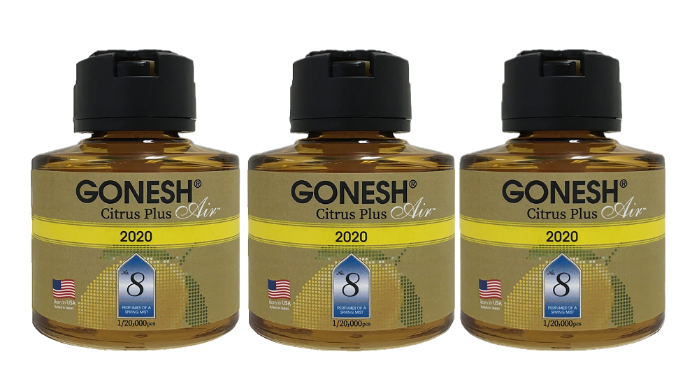 【限定】GONESH ANNUAL LIQUID NO.8 CITRUS PLUS 2020 3個セット